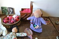 Workspace of Waldorf dolls by Orit Dotan (orit dotan) Tags:  waldorfdoll          waldorfdolls                          waldorfeducation