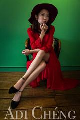 Adi_0010 (Adi Chng) Tags: adichng girl      redgreen