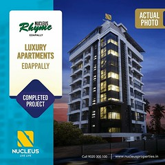 On this #WorldPhotographyDay, sharing the latest photo of Nucleus Rhyme located at Edappally!  Thanks to the supersonic growth that  transformed the locality to Cochins most happening hub, RHYME offered residents the joys of a lifetime.  Visit us on www. (nucleusproperties) Tags: life beautiful kochi elegant style kerala realestate lifestyle india luxury comfort apartment nature architecture interior gorgeous design photography elegance environment worldphotographyday beauty building exquisite view city construction atmosphere home living