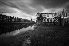 Grand Canal Docks (Rus) Tags: dublin grandcanaldock bw greystonescameraclub nikond5000 longexposure sigma1020 nd400 manfrotto cablerelease niksilverefexpro greyst