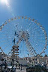 Marseille Vieux Port Ferris Wheel (Scott_Nelson) Tags: marseille provencealpesctedazur france fr travel mediterranean