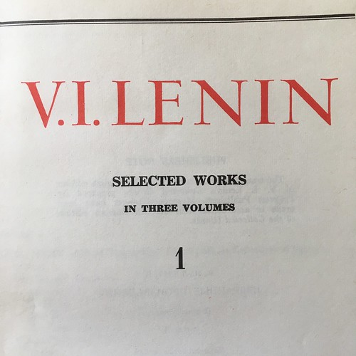 V. I. Lenin - selected works
