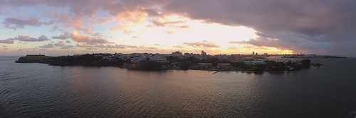 Sunrise over San Juan