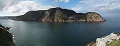 Signal Hill Narrows from Fort Amherst (nielsamd) Tags: stjohns narrows newfoundland harbour signalhill fortamherst