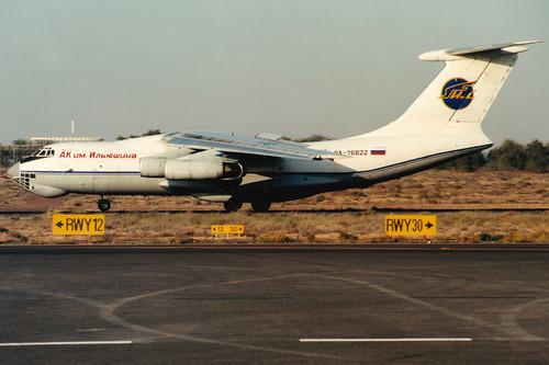 Abakan Avia   Ilyushin IL-76MD   RA-76822   Sharjah International