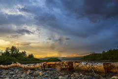 IMG_1875 (benjamin-barreau) Tags: sude sweden abiskonationalpark abisko sunset coucherdesoleil sky clouds ciel nuages rainbow arcenciel