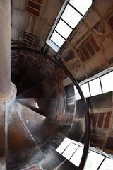 Spiral (marensr) Tags: stair staircase stairway spiral steps rockefeller memorial chapel uchicago university chicago gothic architecture windows brickwor