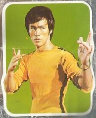 Bruce! 2 (912greens) Tags: stickers brucelee 1970s ephemera karate bruce