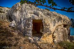 The Flintstone house (Askjell's Photo) Tags: aegeansea agathibeach cavechurch greece hellas rhodes rhodos rodos stagatha