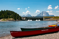 Jackson Lake Dam Boat Launch (GrandTetonNPS) Tags: unitedstates grandteton natio nationalpark