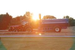 The Sunsets on First Harvest 2016 (rlgidbiz1) Tags: sunset case farming golden wheat harvest workingmen summer