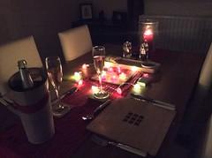 The Romance.... (m barraclough) Tags: ipadair dinner romance