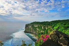 Beautiful view at Uluwatu, Bali (JaNuchjarin) Tags: travelers traveling travel vacation seaview scene beautiful nature landscape ocean indianocean cliff indonesia bali uluwatu instagramapp square squareformat
