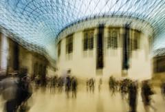 Museal visions (Giuseppe Renato De Luca) Tags: britishmuseum blurred icm color art