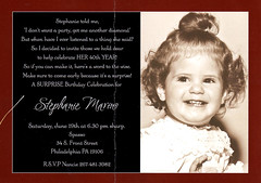 steph_invitation.jpg (P. Goldman) Tags: 40th birthday invitation stephanie