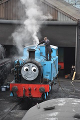 Thomas (simmonsphotography) Tags: railway railroad locomotive engine train preserved preservation gala heritage steam uksteam nenevalley thomas tank