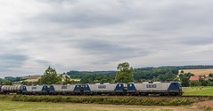3048_2016_07_16_Haunetal_Neukirchen_RBH_6143_191_104_6143_041_103_6143_571_119_&_6143_638_112_mit_Kesselzug_Bad_Hersfeld (ruhrpott.sprinter) Tags: ruhrpott sprinter deutschland germany nrw ruhrgebiet gelsenkirchen lokomotive locomotives eisenbahn railroad zug train rail reisezug passenger gter cargo freight fret diesel ellok hessen haunetal boxxboxxpress db egp ell hhla hsl hvle lbllocon metrans mrcedispolokdispo bb railpoolrpool rbh rhc schweerbau sbbc txltxlogistik wienerlokalbahnencargo 143 145 152 182 185 193 218 270 428 650 1264 1266 421 es64u2 es64f4 greencargo ice r5 outdoor logo natur sonnenaufgang graffiti rinder