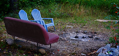 Chairs (pat lee photography) Tags: camping outdoors gardiner new york upstate