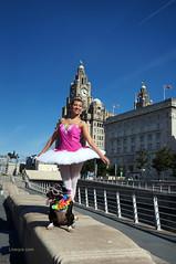DSC06428 (liverpix) Tags: cleo dog performing anthonywalsh photowalk 500px liverpool pierhead liverbuilding ballerina ballet