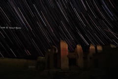 Stars over War remains.. (Saeid Aghaei) Tags: afghanistan night buildings stars star war trails trail afghan taliban desolate des