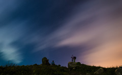 shooters under the stars (dawvon) Tags: world china longexposure travel sky hk cloud nature night trekking dark stars landscape ed hongkong prime nikon asia nightshot hiking f14 14 gear wideangle equipment 24mm fullframe nikkor fx  newterritories lenses clearwaterbay saikung stargazing wideanglelens photographyequipment   primelens 14g fmount f14g starrysky photographygear fixedfocal   fixedfocallens nanocrystalcoat  taiaumun wideangleprime 24mmf14g afsnikkor24mmf14ged clearwaterbaypeninsula tailengtung