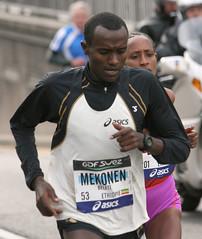 Belete Mekonen (electropod) Tags: paris race marathon run asics ethiopia runner 2012 competitor ethiopie mekonen belete
