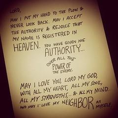 Never look back #biblenote (Paul Goode) Tags: lotsofnotes instagram biblenote