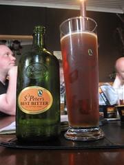 St Peter's Best Bitter (Bernt Rostad) Tags: stpeters beer norway norge ale bier birra bitter skorovatn skorovas l nordtrndelag bestbitter namsskogan skjenkestova stpetersbestbitter