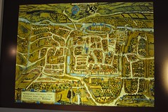 Map over Eisenach, Bach Museum in Eisenach (cwasteson) Tags: bach eisenach johannsebastianbach bachmuseum