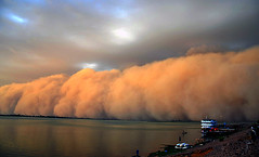 Sand Storm (Sascha Grabow) Tags: africa blue red cloud storm niger clouds strand danger river dark boot boat dangerous sand ship wind islam fear flight fast wave run cover peligro shore monsoon sandstorm sascha afrika sasha sasa mali bateau ufer fluss winds duststorm rettung trade schiff angst touareg westafrika tuareg fleuve afrique spektakel fulani phenomenon gefahr achtung harmattan spectacle flucht sturm peur segou tradewinds peligroso peul haboob phnomen ouest grabow sandsturm cawa satcha grabo habub gettycontributor saschagrabowcom