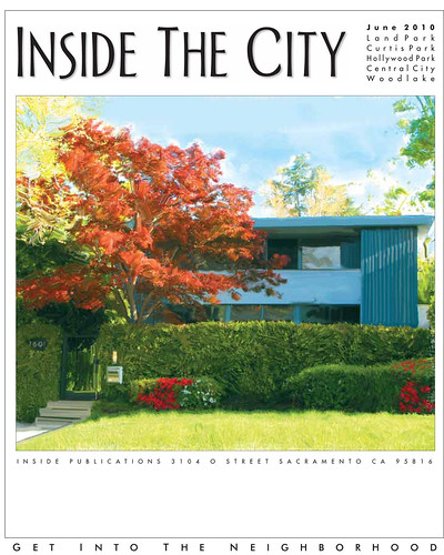 "Inside the City: ""Modern at Last. A homeowner embraces midcentury design."" June 2010"