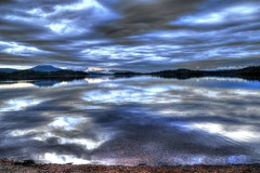 Loch Lomond, Moonlight Fantasy (theimagebusiness) Tags: sky cloud moon lake water night scotland fantasy bigsky loch hdr lochlomond theimagebusiness