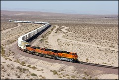 Eastbound Just West of Ludlow (greenthumb_38) Tags: train desert container mojave locomotive stacks mojavedesert mohave intermodal stacktrain canon40d jeffreybass