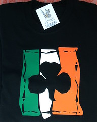 Remera Shamrock (Lady Krizia) Tags: ireland irish tshirt celtic shamrock vinilo irlanda celta remera wilwarin remeras estampado termoestampado