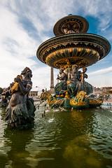 Fontaine des Mers - Place de la Concorde
