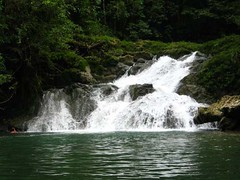 Livingston Guatemala  Seven Altars Waterfall Angela (AntiguaGuatemalaTravel Photos) Tags: las hotel waterfall guatemala veronica seven angela livingston altars siete altares leddie