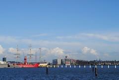 The IJ, Amsterdam (Forest Pines) Tags: holland amsterdam port river ship harbour nederland estuary netherland ij lightship noordholland ndsm amsterdamnoord northholland northamsterdam