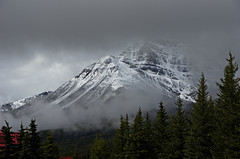 Mount Temple (DCZwick) Tags: canada mountains rockies village alberta rockymountains lakelouise banffnationalpark canadianrockies banffpark lakelouisevillage da50135 pentaxart