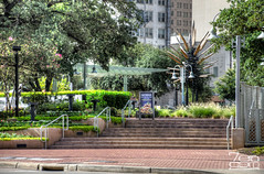 Allens landing_20120728_0345_6_7.jpg (SGR Photo) Tags: usa downtown texas houston places hdr 2012 allenslanding buffalobayou photomatix houstonphotowalks preservationhouston