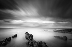 Converging Rocks (Ger208k) Tags: ireland dublin mist seascape clouds island rocks dynamic horizon malahide lambayisland gerardmcgrath longexposurebigstopper