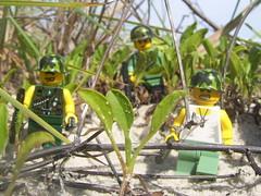 On Patrol (Lessismorris) Tags: lego vietnam minifigs customlego