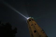 Un faro nella notte... (fata_ci) Tags: panorama como faro lago luci notte brunate