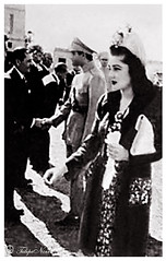 Shah Mohamed Reza Pahlavi & Empress Fawzia In Tehran (Tulipe Noire) Tags: official iran egypt middleeast persia visit reception 1940s egyptian wife empress tehran reza mohamed shah pahlavi fawzia