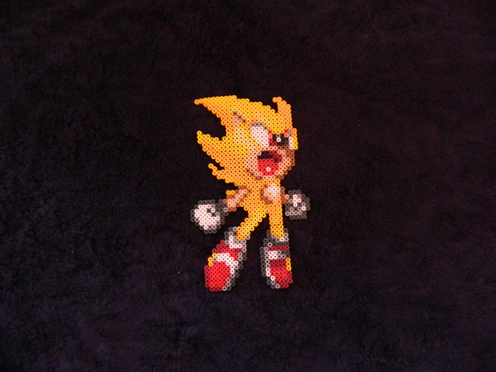 The Worlds Newest Photos Of Perler And Sonic Flickr Hive Mind