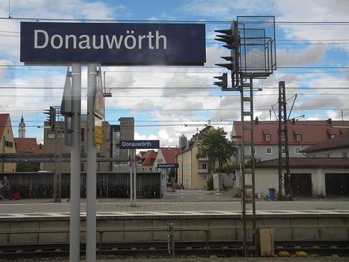 Donauwörth train station