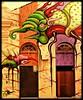 O Padeiro de Sevilha - detalhe da fachada - Florianópolis - SC - Brasil (silwittmann) Tags: brazil two sc colors wall brasil facade paint doors florianopolis strip fachada portas padaria colourartaward artlegacy opadeirodesevilha fachadasconencanto2dconcurso29