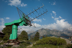 Beam me up Sergey ... (berik) Tags: fiction radio gun ray radiation science observatory laser centralasia kazakhstan atmospheric almaty tienshan  bigalmatylake gaish  tienshanastronomicalobservatory