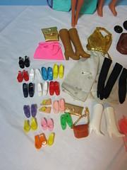 (17) Flea Market Finds -- Item F (Foxy Belle) Tags: sun toys mod ballerina shoes doll boots market ken barbie jewelry case squishy accessories flea superstar sational
