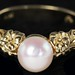 4033. Cultured Pearl Ring