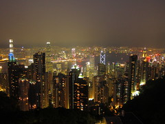 View from The Peak (jleathers) Tags: china city skyline hongkong harbor asia downtown cityscape skyscrapers sar victoriapeak victoriaharbor